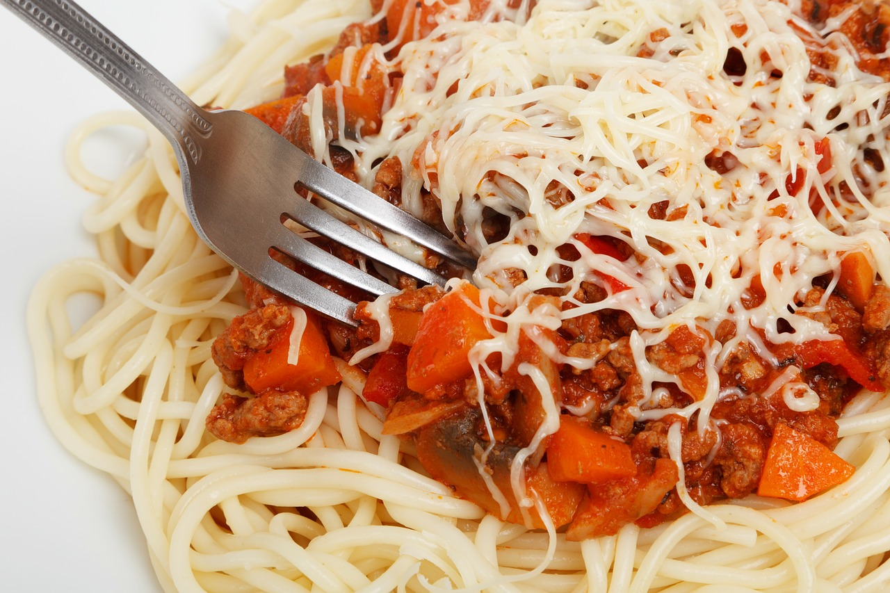 Pasta is a great choice for a cheat meal.