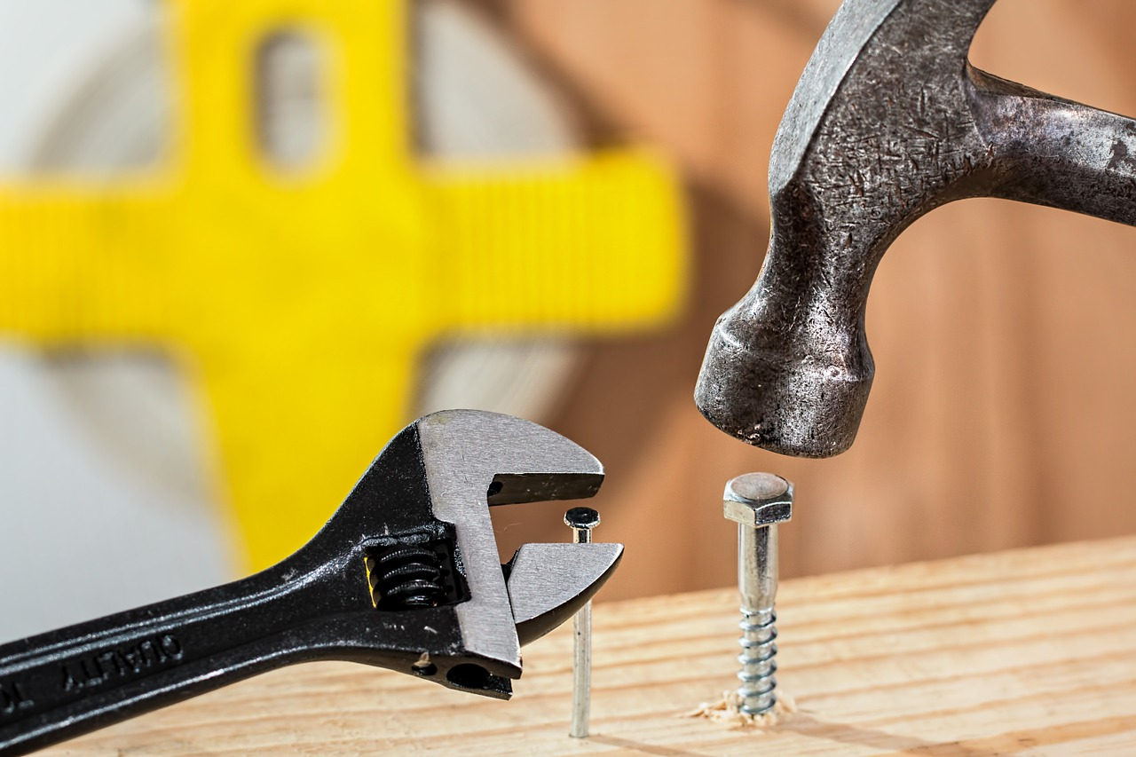 Nails and screws require the right tools to be effective.